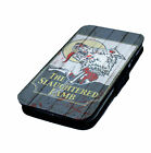 The Slaughtered Lamb - Printed Faux Leather Flip Phone Cover Case Werewolf Style