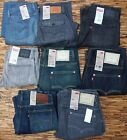 LEVI'S 514 MENS SLIM STRAIGHT LEG SET BELOW WAIST DENIM JEANS YOUR PICK LIST $58