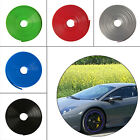 Car Alloy Wheel Edge Ring Rim Protectors Tyres Tire Guard Rubber Moulding 8m New