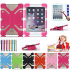 """Universal Rubber Shockproof Soft Cover Case + Screen Film For 7.9""""-9.0"""" Tablet"""