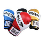 Everlast Unleash Boxing Training Gloves MMA Sparring Blue Red Black Gold 14oz