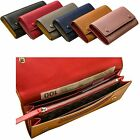 Woman Long Wallet Zipper Coin Bill Pocket Women Purse Cow Leather DWW3229A