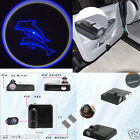 Car Wireless Door LED Welcome Logo Shadow Ghost Light Blue Dolphin #272