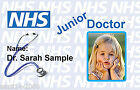 Doctor ID Card | Play ID Card for Kids Fancy Dress Costume.