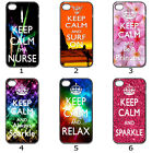 Designer Phone Hard Case Cover Keep Calm Galaxy Colourful Collection 2