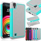 NEW Shockproof Hybrid Impact Rugged Matte Bumper Phone Case Cover For LG X Power