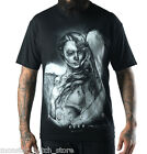 NEW WITH TAGS Sullen FALLEN LOVE Tee Shirt BLACK LARGE-3XLARGE LIMITED RELEASE