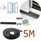 5M Door Window Frame Draught Excluder Brush Pile Insulation Seal Weather Strip