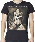 "RELIGION Clothing Herren T-Shirt Shirt ""WE LIVE IN BLACK"" NEU"