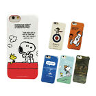 Peanuts Snoopy & Woodstock iPhone 7 case cover by Gourmandise orginal from Japan