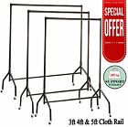 CLOTHES RAILS HEAVY DUTY IN 4FT WIDE GARMENT 4 HOME SHOP STORAGE DISPLAY