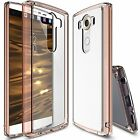 [FREE] Tempered Glass   Ringke [Fusion] Clear Protective Bumper Case for LG V10