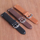 New Arrival 18mm 20mm 22mm Black Brown Leather Watch Bands Wristwatch straps