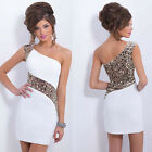 Sexy Women Bridesmaid Evening Formal Party Cocktail Short Mini Dress Gown Prom Q