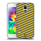HEAD CASE DESIGNS BUSY BEE PATTERNS SOFT GEL CASE FOR SAMSUNG GALAXY S5 MINI