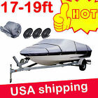 14 16 18 20 22 21 24Ft 600D Heavy Duty Fabric Waterproof Trailable Boat Cover KN