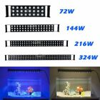 "12""/24""/36""/48""Aquarium LED Light Multi-Color Full Spectrum Plant Marine LPS SPS"