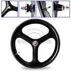 Bicycle Rim Set SC Front Rear Wheel Single Speed Fixie Fixed Gear 700c Tri Spoke