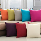 Pillow Case Cushion Office Cover Decorative Square Home Throw Sofa Simple Gift