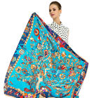 "Women's Lake Blue Fashion Tree Large Shawl Euro Style Print Scarf Stole 51"" 51"""