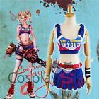 Lollipop Chainsaw Juliet Tube Dress Cosplay Costume full set Outfit Free Ship