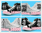 Anime Demi-Human Printed High Top Canvas Unisex  Sneakers