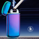 New USB Rechargeable Lighter Windproof  Electric Flameless SingleArc Cigarette