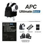 APC Armadillo Plate Carrier Ballistic Tactical Veat Gear Body Armor Panel Kit