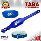 """TABA Back Support Weight Lifting 4"""" & 6"""" Leather Belt Gym Power Fitness Training"""