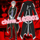 Top BRS black rock shooter Costume Cosplay Anime Jacket Outfit Rare Art Hoodie