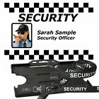 Security ID Badge and Lanyard  Photo or No Photo. Personalised or Generic