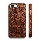 Genuine Shockproof Wood Wooden Bamboo Back Case Cover For iPhone 5 SE 6 7 Plus