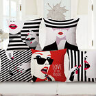 We-image Model  Simple Belle Throw Cushion Cover Sofa Pillow Case Home Decor