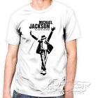 T shirt Michael Jackson king of pop music maglietta uomo donna personalizzata