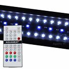 "12""-72"" RGB Remote Control LED Light HI LUMEN  Aquarium Planted +24/7 Automa"