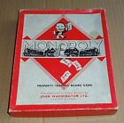 SELECTION OF VINTAGE 1950s MONOPOLY BOARD GAME SPARES; METAL PLAYING PIECES ETC