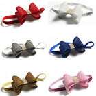 3 Inch Luxury Matching Glitter Bowknot Headband For Baby Girls Hair Accessories
