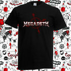 New Megadeth Cryptic Writings Heavy Metal Band Men's Black T-Shirt Size S-3XL image