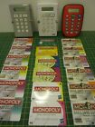 Monopoly ELECTRONIC BANKING UNIT & CREDIT CARDS [Spares Replacements]