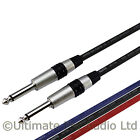 Guitar Patch Lead Jack to Jack 1/4 Straight Klotz Rean AC104 Cable NYS224C-0 NS