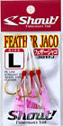 NEW Shout Feather Jaco Assist Hooks Fishing Rods Reels Tackle Box Lures Jigs