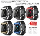 HOT Rugged Protective Case + Strap Wrist Band For Apple...