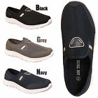 Mens Slip On Walking Running Trainers Boys Sports Shoes Lightweight Flexi Pumps