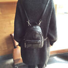 Convertible Small Mini Genuine Leather Backpack Rucksack Shoulder Bag Purse Cute