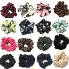 HAIR SCRUNCHIES SCRUNCHIE LACE VELVET BLACK BOBBLE ELASTIC PONYTAIL HIGH QUALITY
