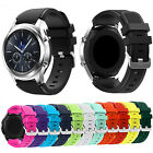 22mm Sports Silicone Replacement Watch Band Strap For Samsung Gear S3 Wristband
