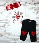Cuter Than Cupid Outfit- Valentine's Day Baby Toddler Outfit
