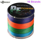 16 Strands 100-2000M 20LBS-300LBS Multi-color Super Strong Braided Fishing Line