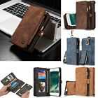 iPhone X 8 8Plus Leather Multifunction Removable Cover Magnetic Wallet Case USCC $11.39 USD