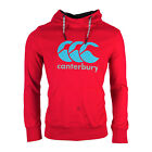 Canterbury Vapodri Large Logo Over The Head Hoody - Free Postage - Red